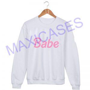 Babe Sweatshirt Sweater Unisex Adults size S to 2XL
