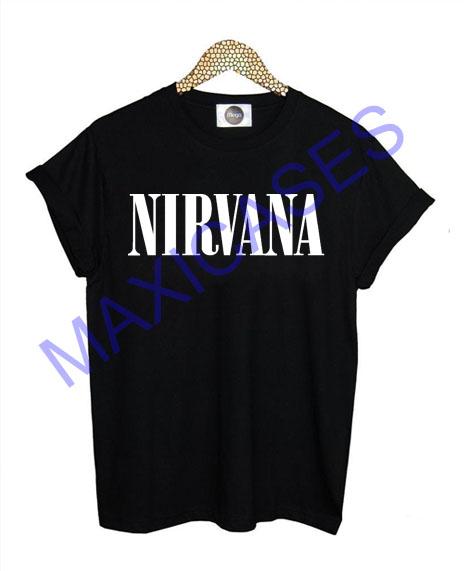 Nirvana logo T-shirt Men Women and Youth