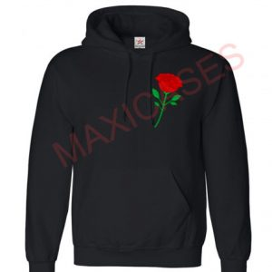 Rose Hoodie Unisex Adult size S - 2XL