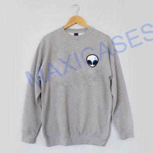Alien face Sweatshirt Sweater Unisex Adults size S to 2XL