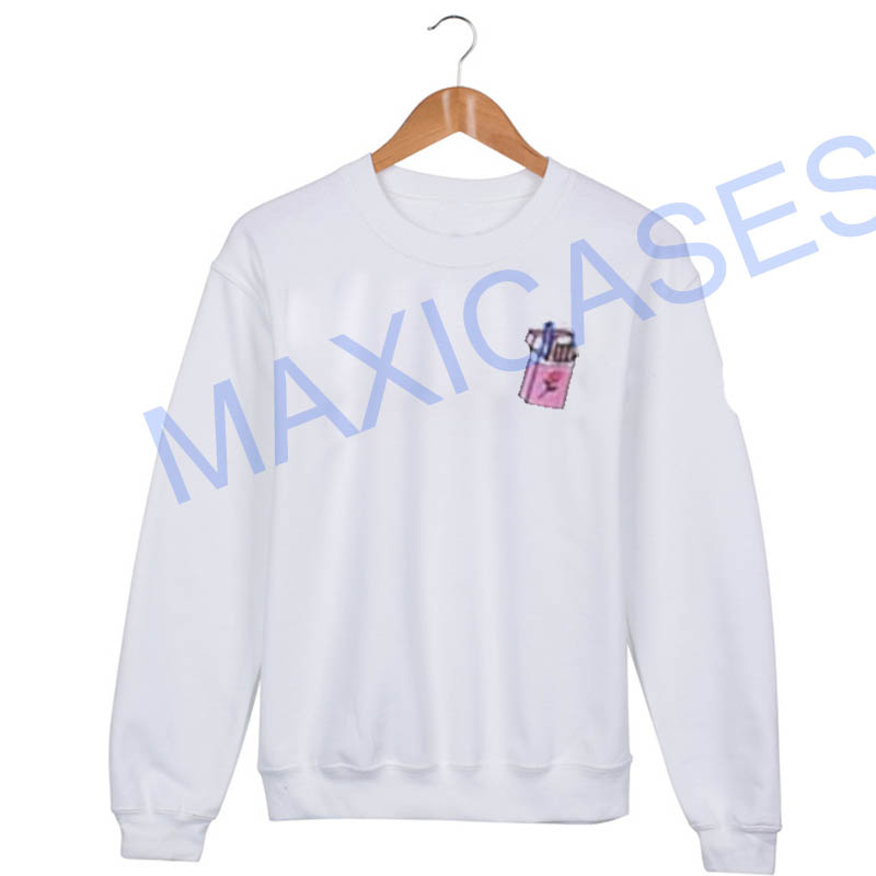 Cigarette cute Sweatshirt Sweater Unisex Adults size S to 2XL