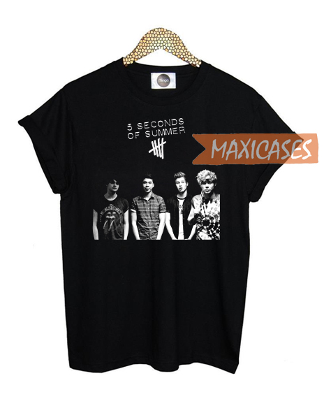 5 Seconds of Summer 02 T-shirt Men Women and Youth