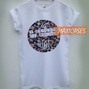 5 Seconds of Summer Flower T-shirt Men Women and Youth