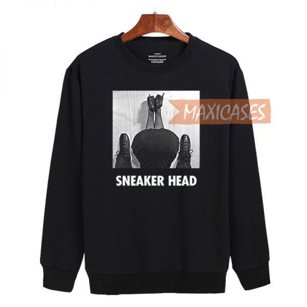 Sneaker head Sweatshirt Sweater Unisex Adults size S to 2XL
