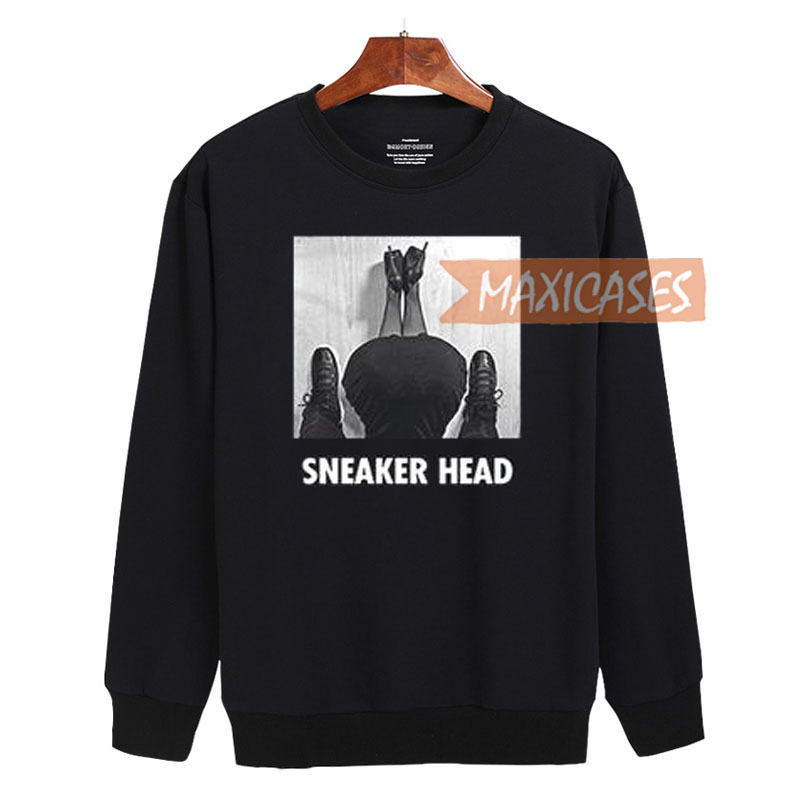 Sneaker head Sweatshirt Sweater Unisex Adults size S to 2XL