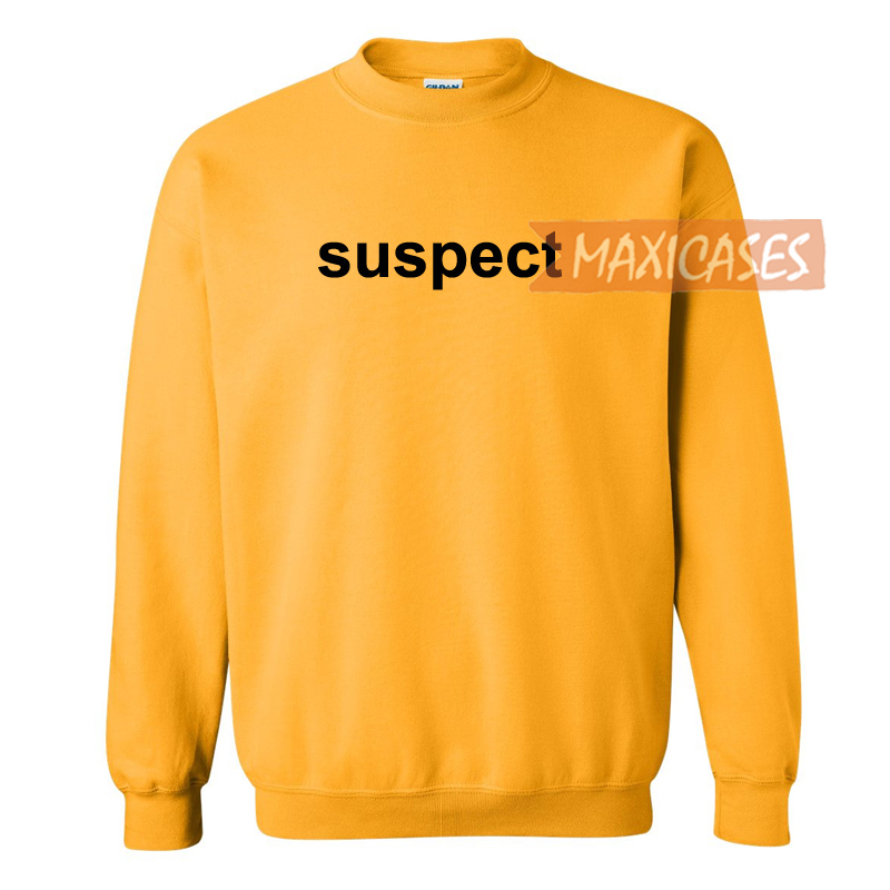 Suspect logo Sweatshirt Sweater Unisex Adults size S to 2XL