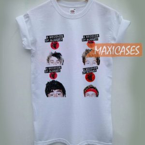 5 Seconds of Summer face T-shirt Men Women and Youth