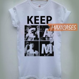 Keep Calm 5 Seconds of Summer and 1D T-shirt Men Women and Youth