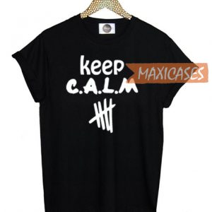 Keep Calm 5 Seconds of Summer T-shirt Men Women and Youth