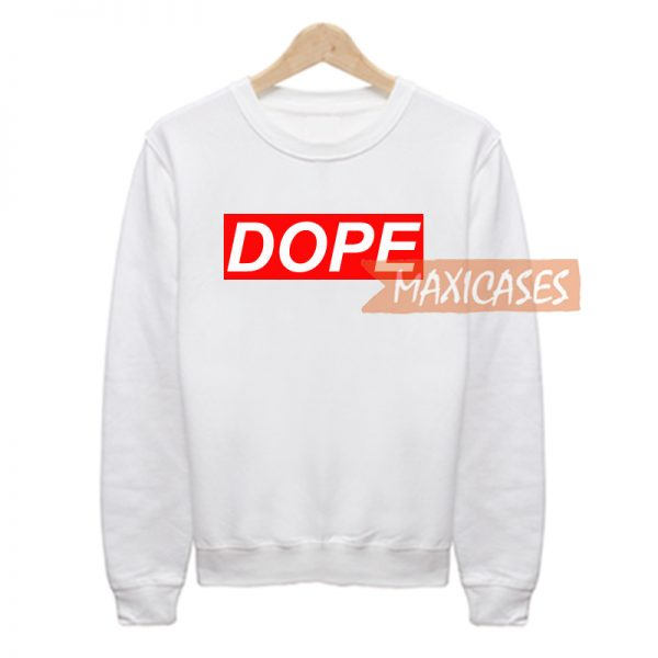 DOPE Sweatshirt Sweater Unisex Adults size S to 2XL