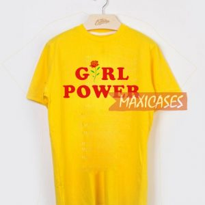 Girl power rose T-shirt Men Women and Youth