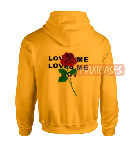 Loves me rose Hoodie Unisex Adult size S - 2XL