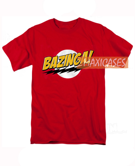 Bazinga Cheap Graphic T Shirts For Women Men And Youth