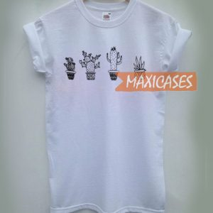 Cactus Cheap Graphic T Shirts for Women, Men and Youth