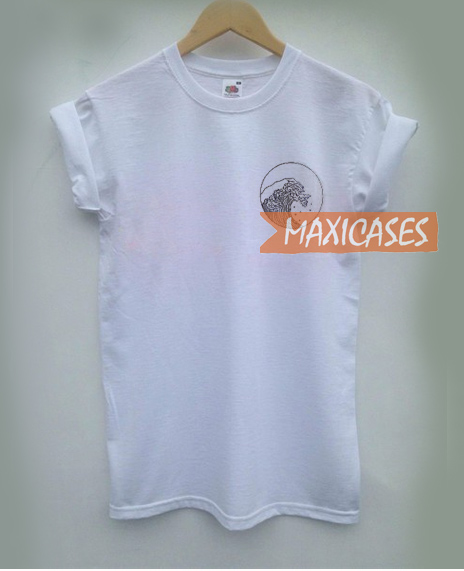 Giant Wave Cheap Graphic T Shirts for Women, Men and Youth