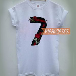 Seven Flower Cheap Graphic T Shirts for Women, Men and Youth