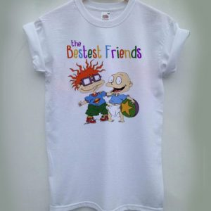 The Bestest Friends Rugrats T-shirt Men Women and Youth