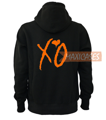 New The Weekend XO Adult Mens Size L-XL Black Concert Band Hoodie