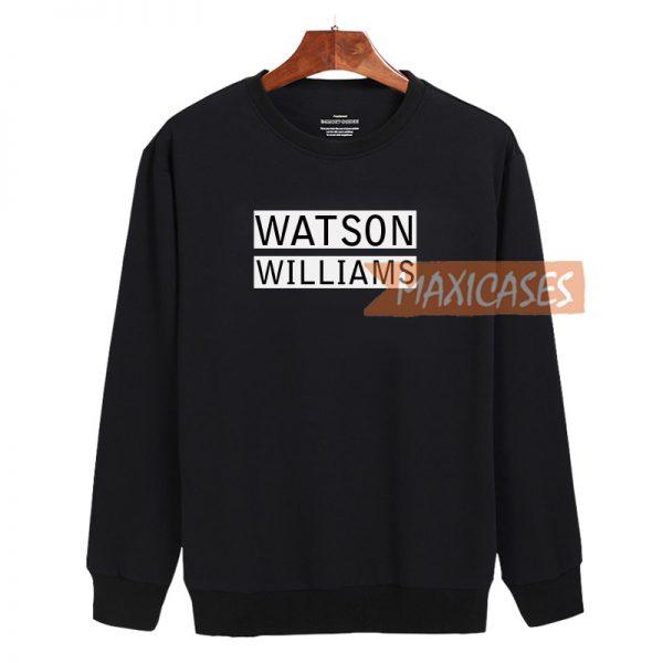 Watson Williams Cheap Sweatshirt, Cheap Sweater