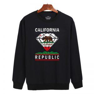 California Diamond Sweatshirt Unisex Adult Size S - 3XL