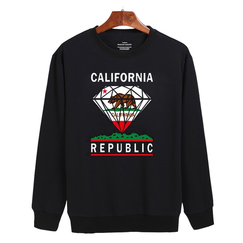 California Diamond Sweatshirt Unisex Adult Size S - 3XL