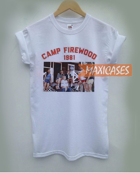 Campfire Wood 1981 T Shirt for Women, Men and Youth