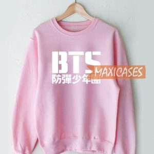 BTS Bangtan Boys Logo Sweatshirt