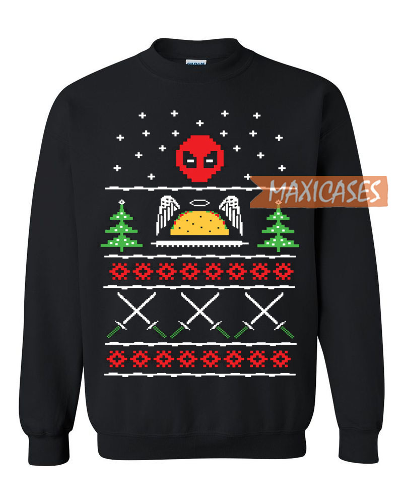 deadpool funny ugly christmas sweater - Funny Ugly Christmas Sweaters