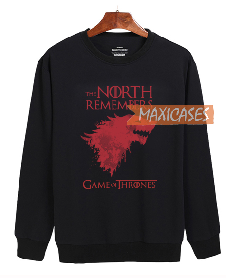 0ad0d2d91 Game of Thrones - The North Remembers Sweatshirt Unisex Adult