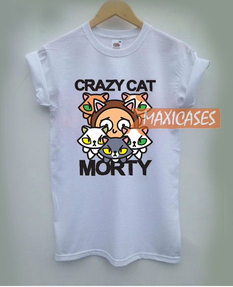 Rick and Morty Crazy Cat T Shirt