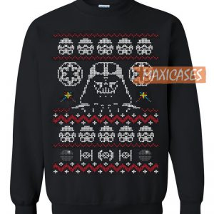 Star Wars Darth Vader Ugly Christmas Sweater Unisex Size S To 3xl