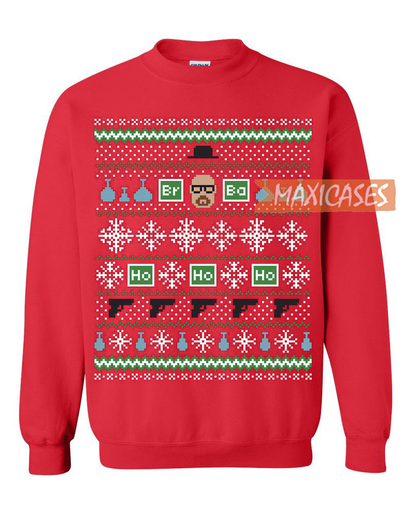 Breaking Bad Heisenberg Ugly Christmas Sweater