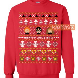 the product is already in the wishlist browse wishlist harry potter 3 ugly christmas sweater - Harry Potter Ugly Christmas Sweater