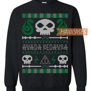 Harry Potter Avada Kedavra Ugly Christmas Sweater