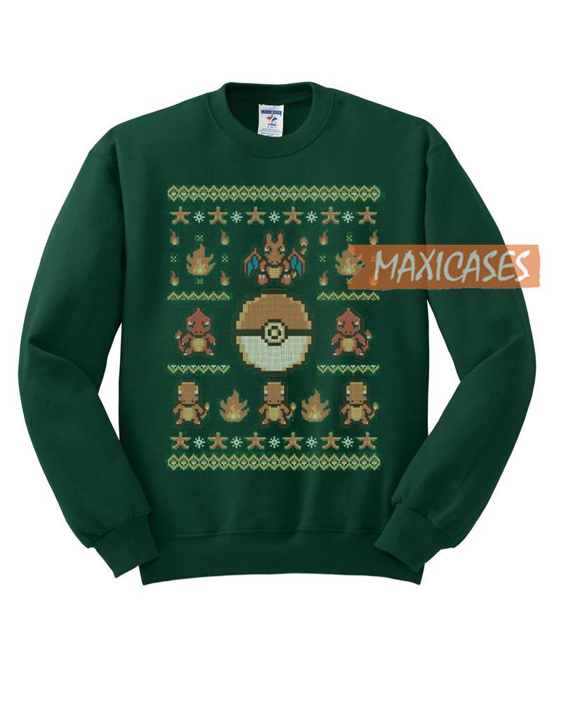 6e5246150 Pokemon Gotta Stitch Ugly Christmas Sweater Unisex Size S to 3XL