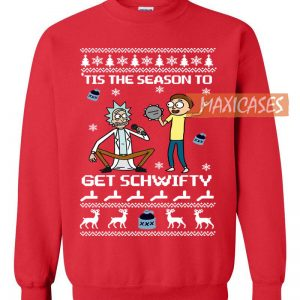 Rick and Morty Get Schwifty Ugly Christmas