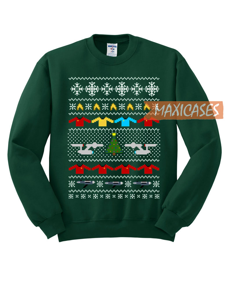 Star Trek Ugly Christmas Sweater Unisex Size S To 3xl