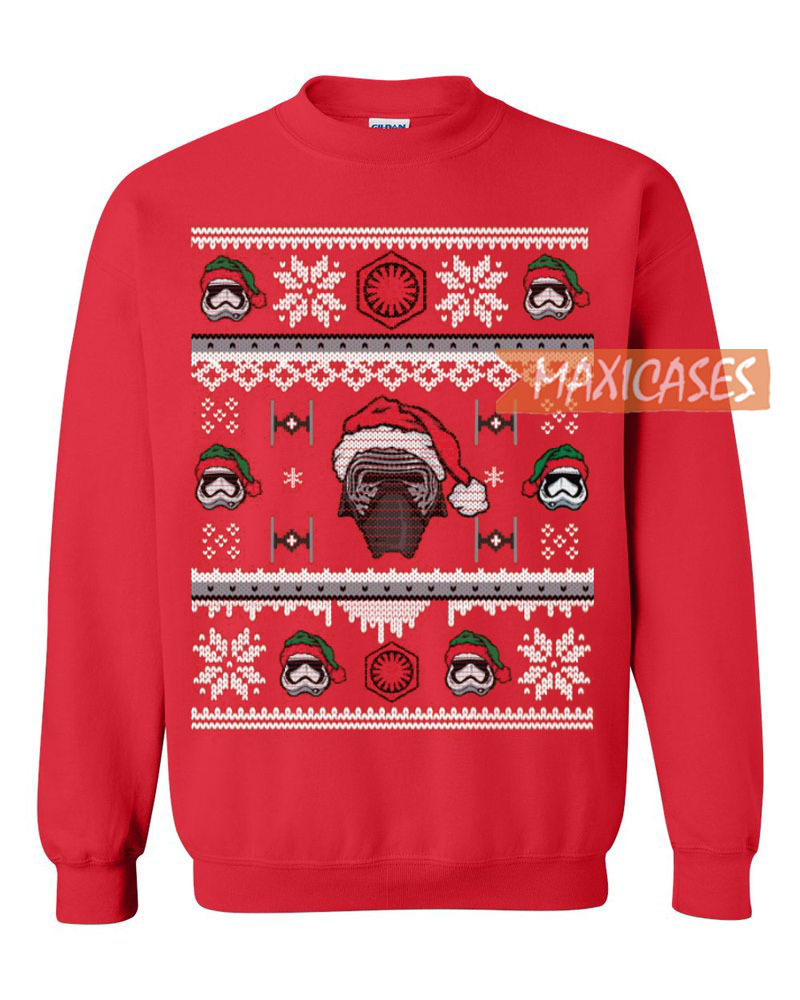 star wars stormtrooper 2 ugly christmas sweater