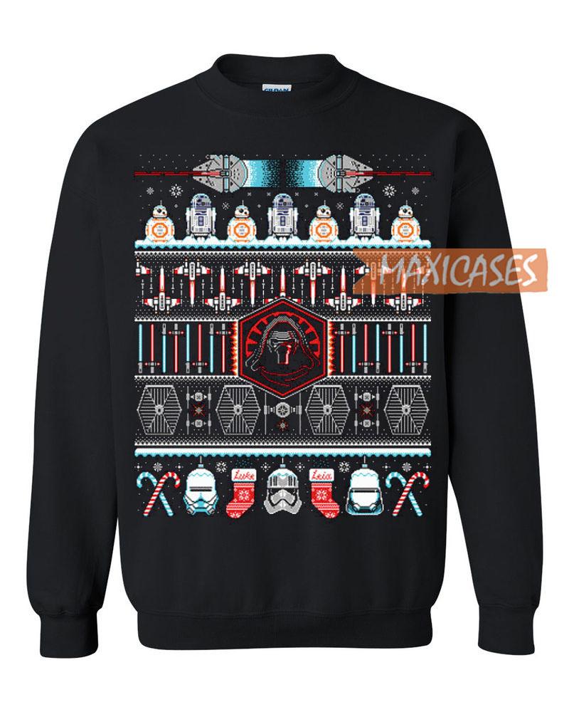 star wars the force awakens ugly christmas sweater - Star Wars Ugly Christmas Sweater