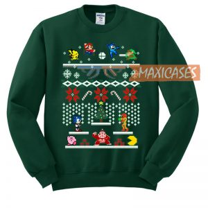 Super Smash Bros Ugly Christmas Sweater