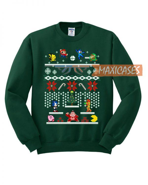 Super Smash Bros Ugly Christmas Sweater