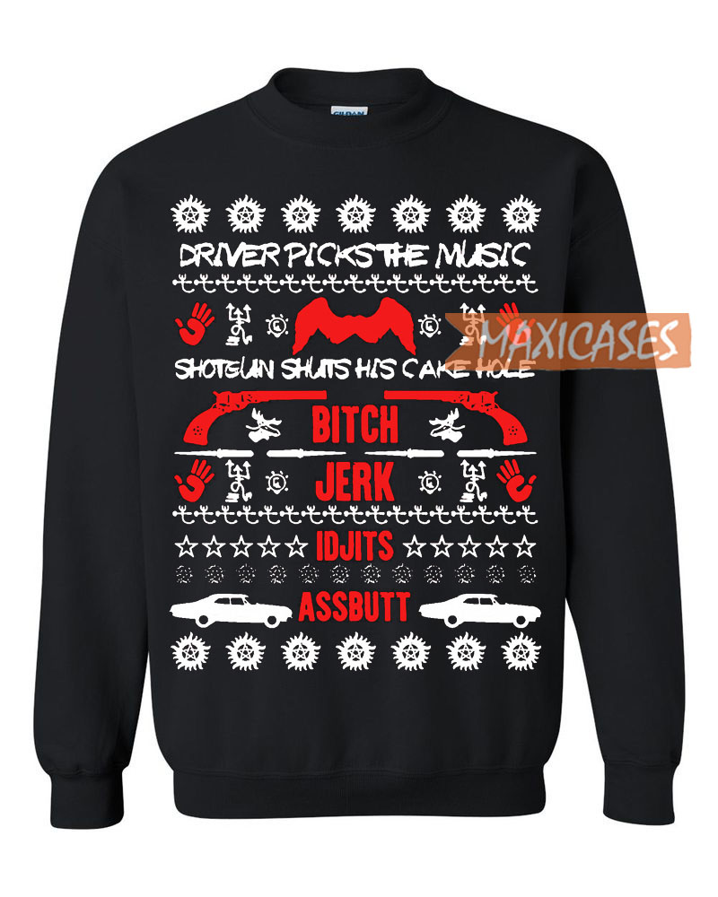 Band Ugly Christmas Sweaters.Supernatural 2 Ugly Christmas Sweater Unisex Size S To 3xl