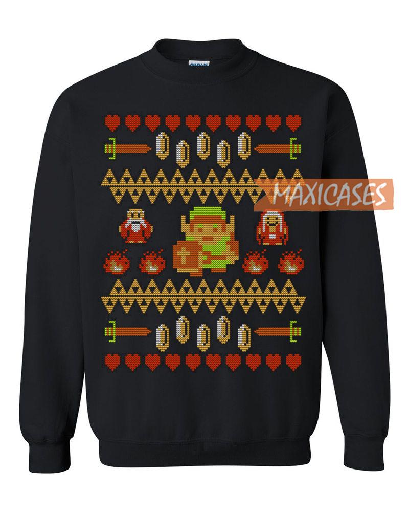 the legend of zelda ugly christmas sweater - Legend Of Zelda Christmas Sweater