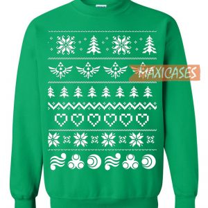 The Legend Of Zelda 2 Ugly Christmas Sweater Unisex Size S to 2XL