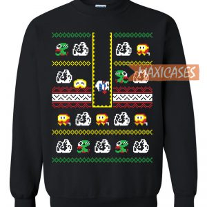 Video Game Holiday Ugly Christmas Sweater Unisex Size S to 2XL