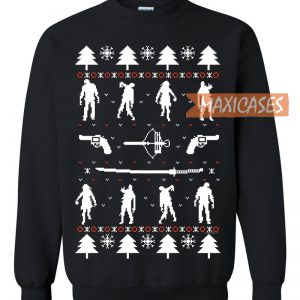 Zombie Holiday Ugly Christmas Sweater