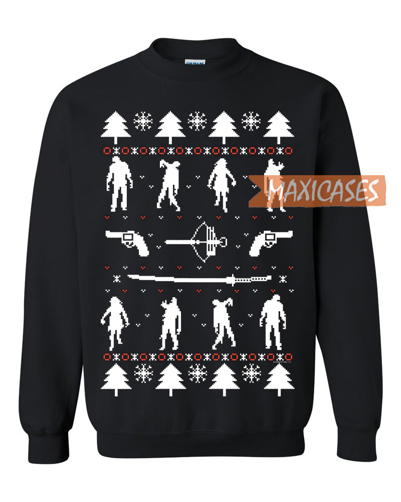 Zombie Christmas Sweater.Zombie Holiday Ugly Christmas Sweater Unisex Size S To 2xl