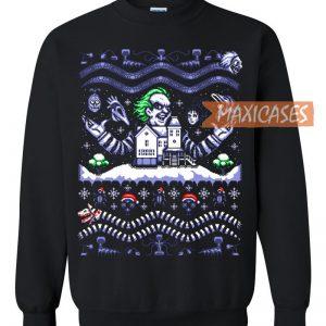 Weezer Christmas Sweater.Joker Ugly Christmas Sweater Unisex Size S To 3xl