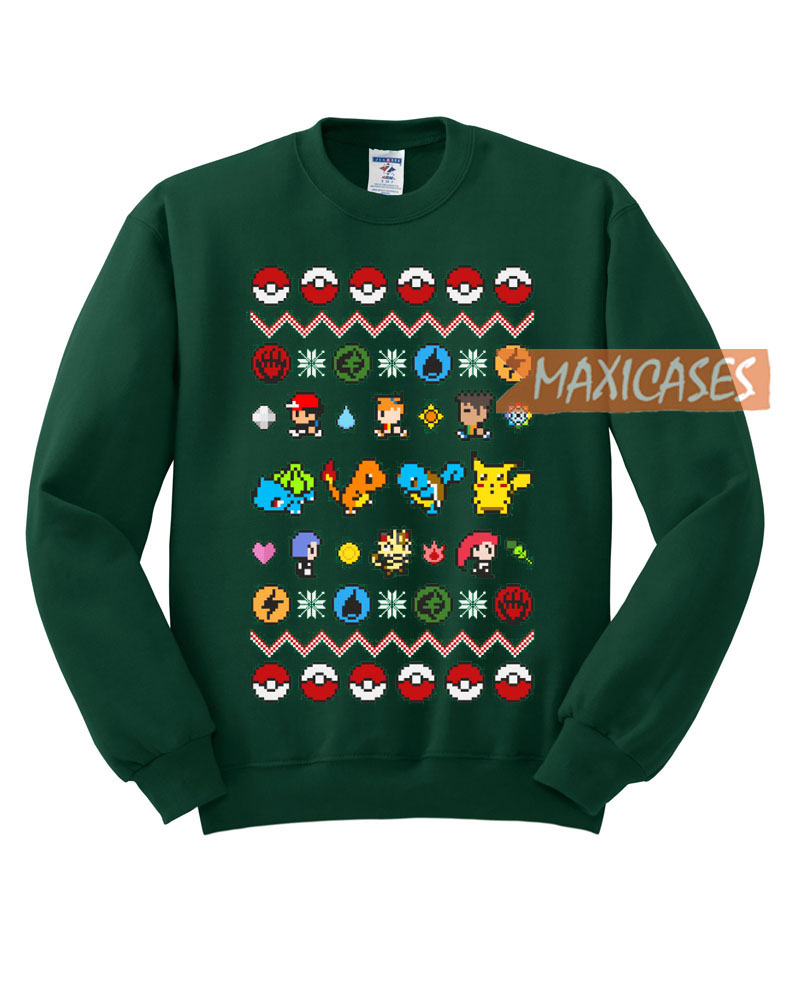 pokemon funny ugly christmas sweater unisex size s to 2xl - Misfits Christmas Sweater