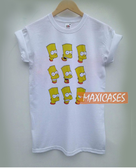 Forever 21 Bart Simpson T Shirt Women Men And Youth